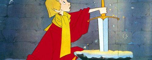 La spada nella roccia cartoni animati film completo in italiano